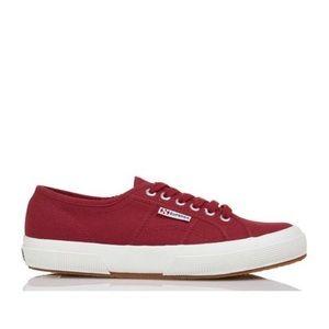 EUC Superga Red 2750 Classic Cotu shoes 6 7.5